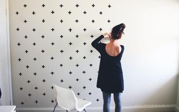 Ideas para decorar una pared sin gastar tanto dinero
