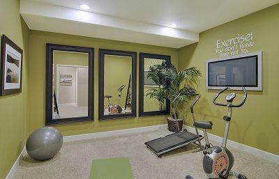 ideas para montar un gym en casa  como organizar la casa