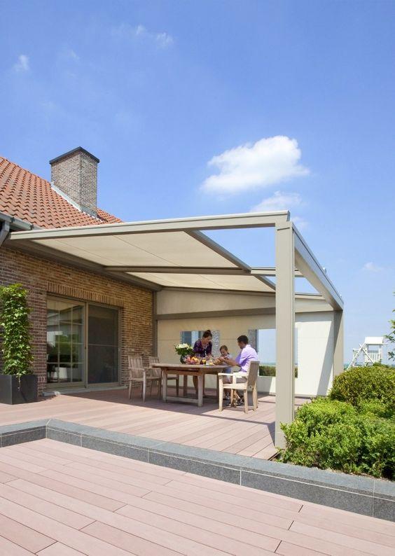 Ideas de techos para patios peque os decoracion de for Toldos para patios pequenos