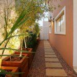 Jardines para entradas y pasillos