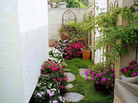 Jardines entradas pasillos 12 decoracion de interiores fachadas para casas como organizar la - Entradas y pasillos ...