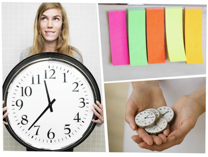 Como organizar mejor el tiempo