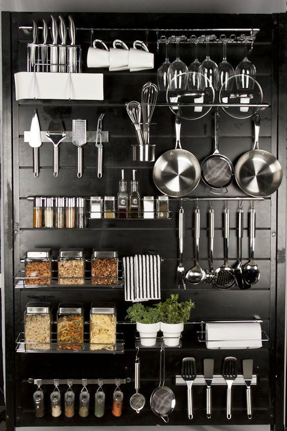 Organizar utensilios cocina 12 decoracion de - Utensilios de cocina industrial ...