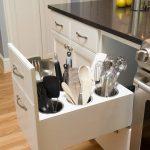 Como organizar utensilios de cocina