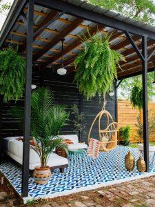 Palapas para decorar tu jardín
