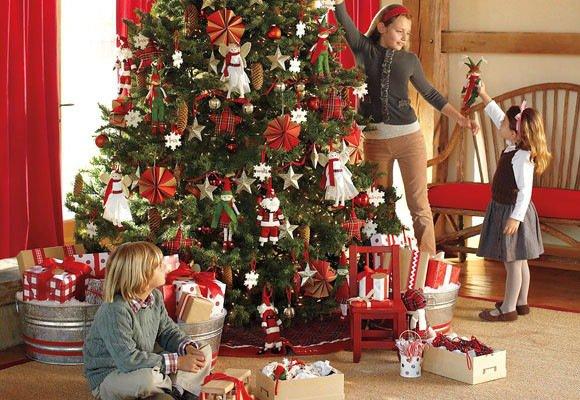 Pinos de navidad 2017 2018 decoracion de interiores - La casa de la navidad ...