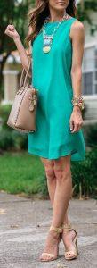 Propuestas para usar color turquesa un color de moda esta temporada