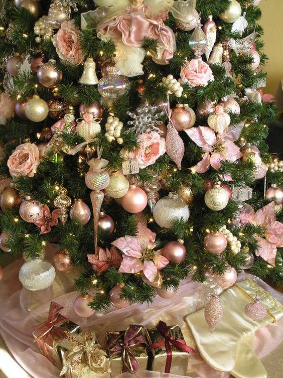 Tendencias decorar arbol navidad 2017 2018 10 for Ideas para decorar navidad 2017