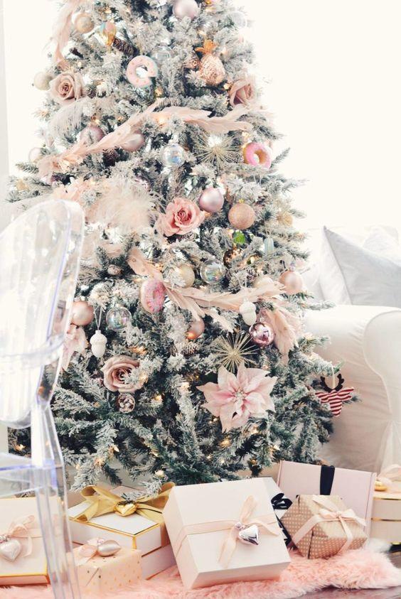tendencias para decorar arbol navidad 2018 - 2019