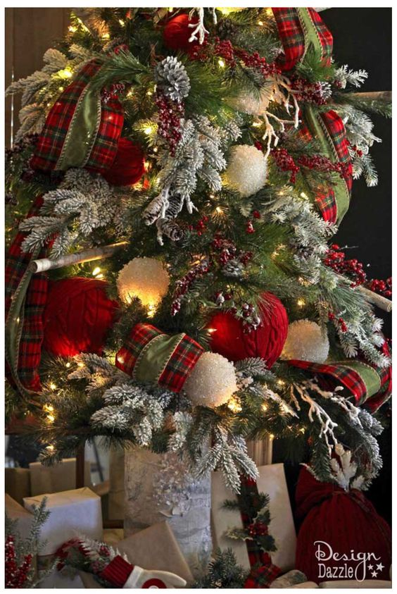 Tendencias decorar arbol navidad 2017 2018 23 for Decorar casa 2017