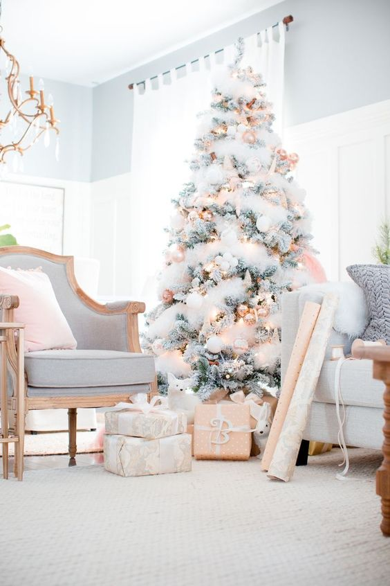 Tendencias decorar arbol navidad 2017 2018 27 - Tendencias decoracion 2018 ...