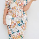 Vestidos con estampado floral para chicas plus size
