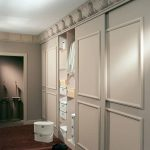 25 ideas de closets que cubren toda la pared