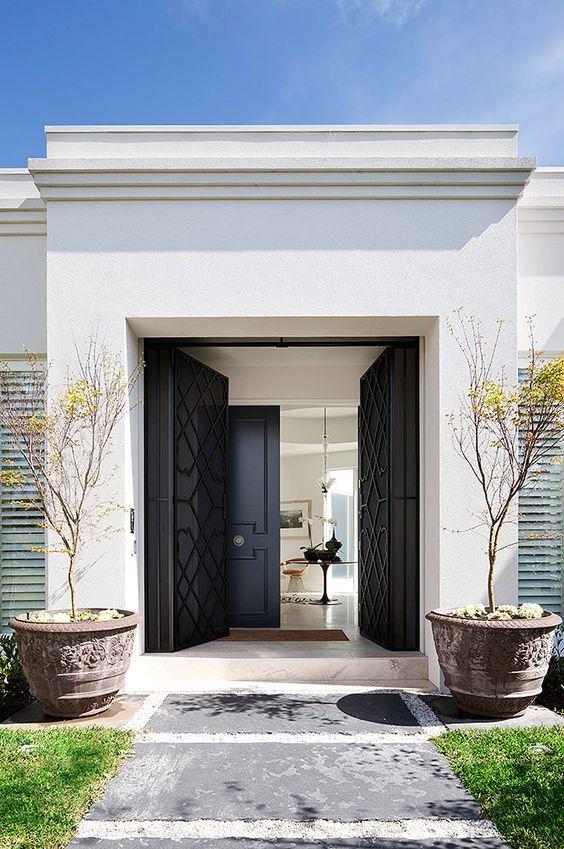 25 ideas decorar la entrada casa 2 decoracion de interiores fachadas para casas como - Decorar la entrada de casa ...