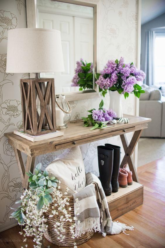 25 ideas para decorar la entrada de la casa