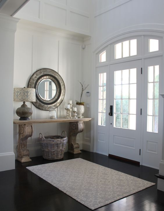25 ideas para decorar la entrada de tu casa