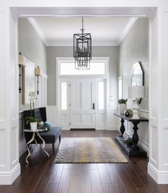 25 ideas decorar la entrada casa 7 decoracion de - Ideas para decorar una entrada de casa ...