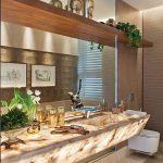 25 Ideas para decorar la zona del tocador en tu baño