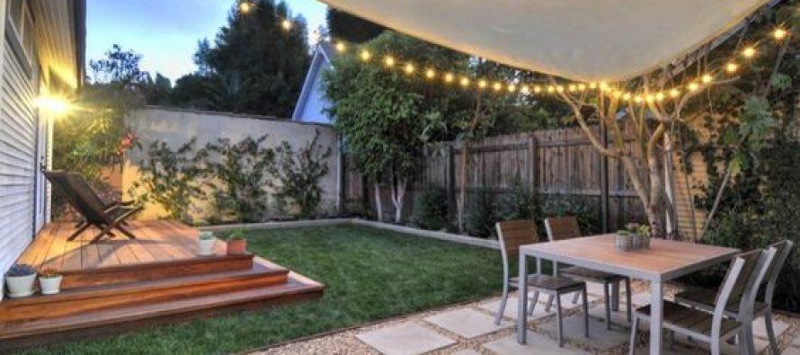 26 patios y jardines que te van a inspirar si tu casa es for Ver jardines de casas pequenas