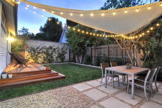 26 patios y jardines que te van a inspirar si tu casa es for Fotos de patios de casas pequenas