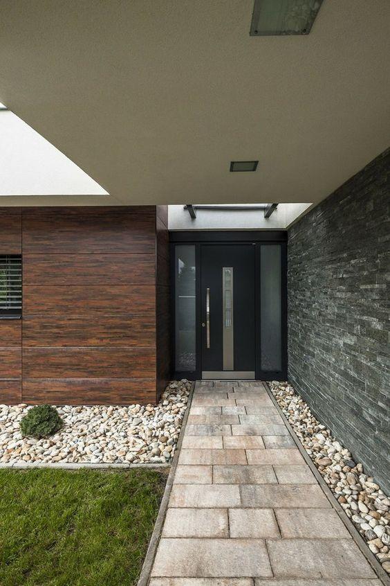 27 disenos pisos patio la entrada casa 14 decoracion for Pisos para cocheras y patios