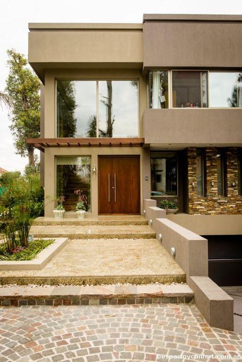 27 dise os de pisos para el patio y la entrada de tu casa for Pisos para cocheras y patios