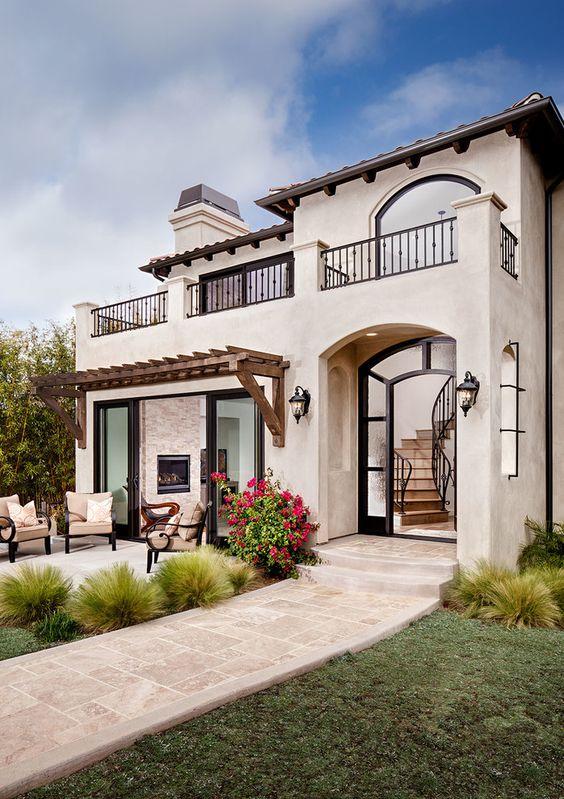 27 dise os de pisos para el patio y la entrada de tu casa for Disenos de pisos para casas