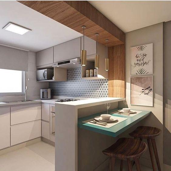 27 ejemplos para dise ar correctamente una cocina peque a for Ejemplos cocinas pequenas