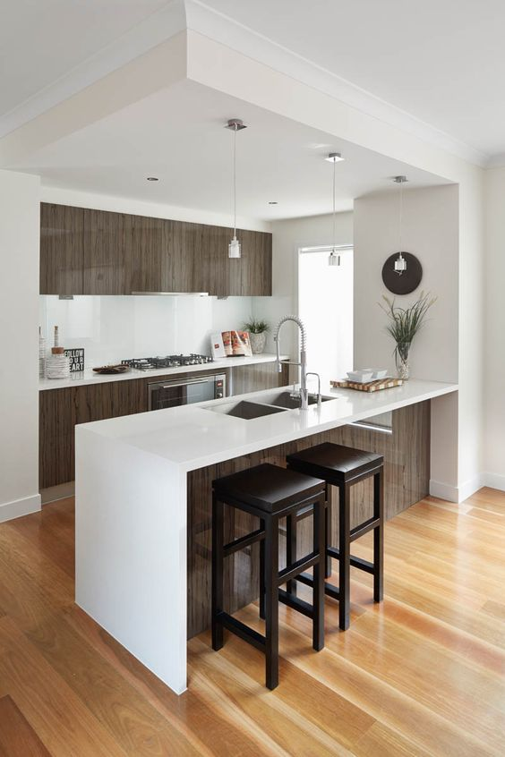 27 ejemplos disenar correctamente una cocina pequena 10 for Como disenar una cocina pequena