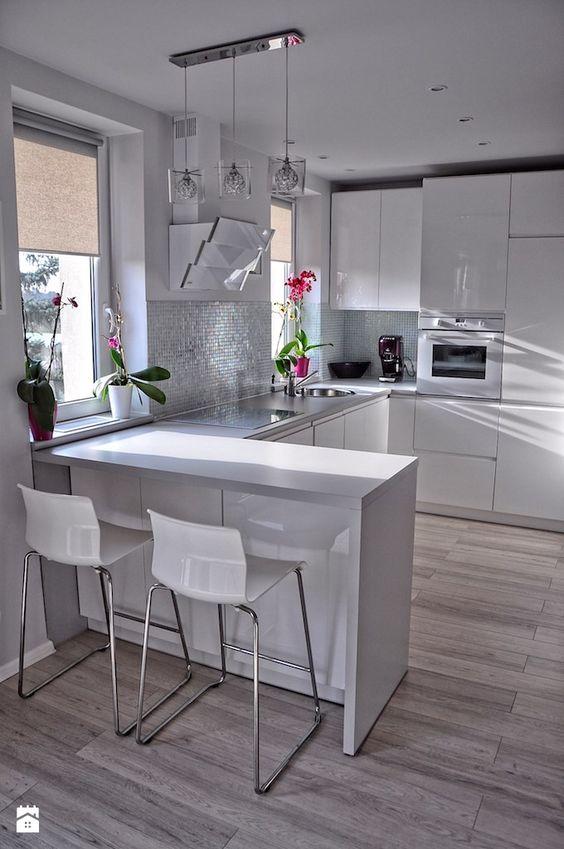 27 ejemplos disenar correctamente una cocina pequena 25 - Ejemplos cocinas pequenas ...