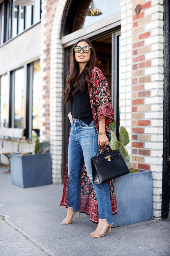 27 Looks con kimonos largos