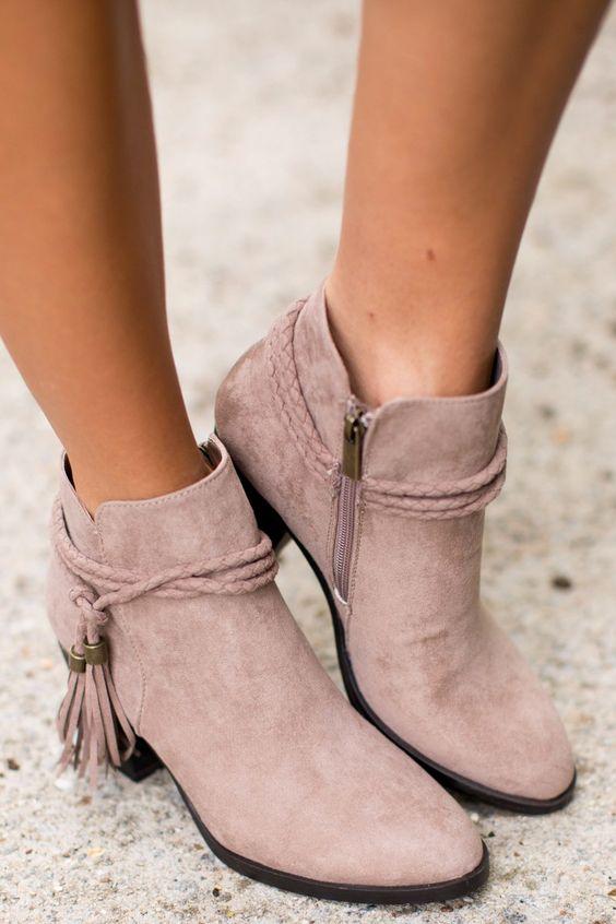 Botines de moda para este otoño - invierno