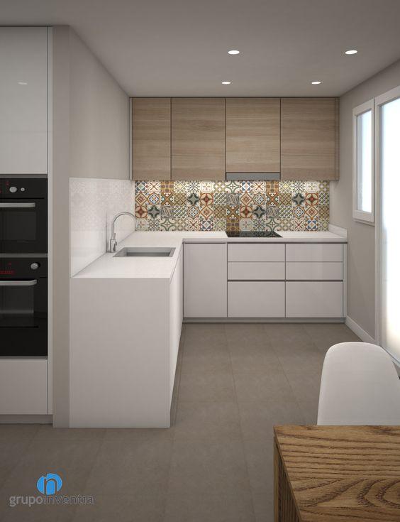 Cocinas l te van gustar casa pequena 22 decoracion de interiores fachadas para casas como for Cocinas pequenas modernas en l