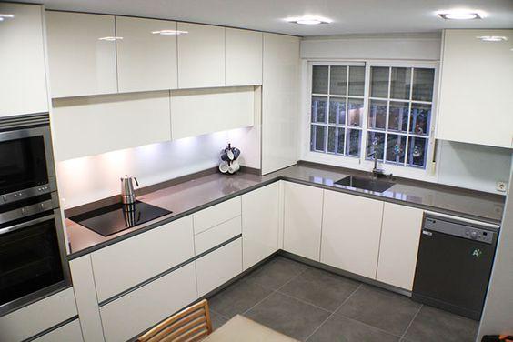 Cocinas en l que te van a gustar si tu casa es peque a for Cocina con vitroceramica