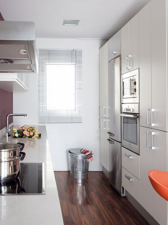 Cocinas peque as grandes ideas para espacios reducidos for Cocinas muy pequenas