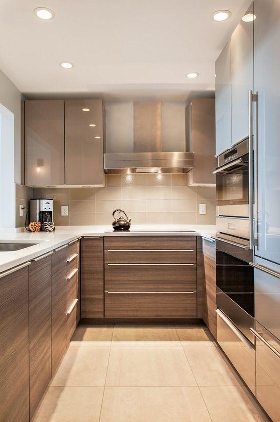 cocinas-pequenas-modernas (1) | Decoracion de interiores Fachadas ...