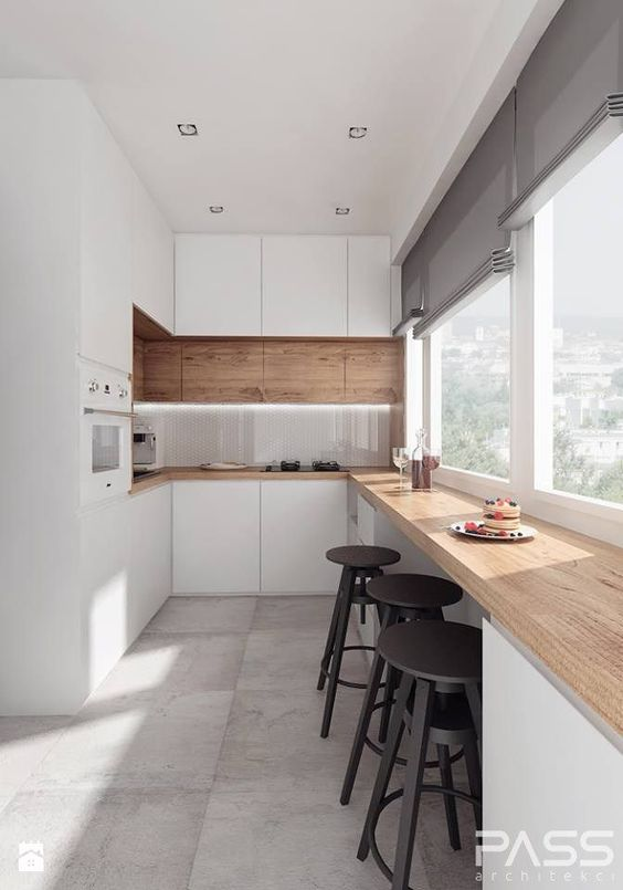 Modern small kitchens