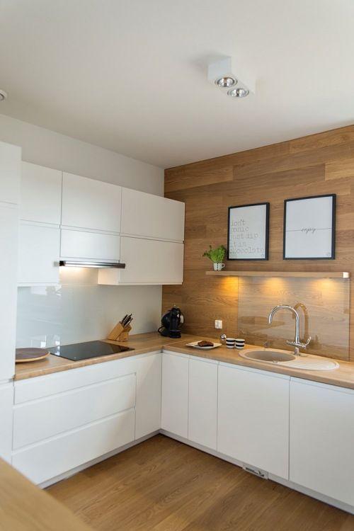 Cocinas pequeñas y modernas