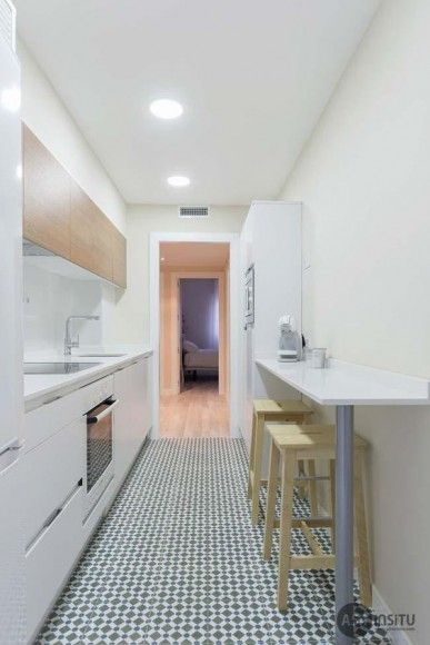 Cocinas pequeñas para espacios pequeños
