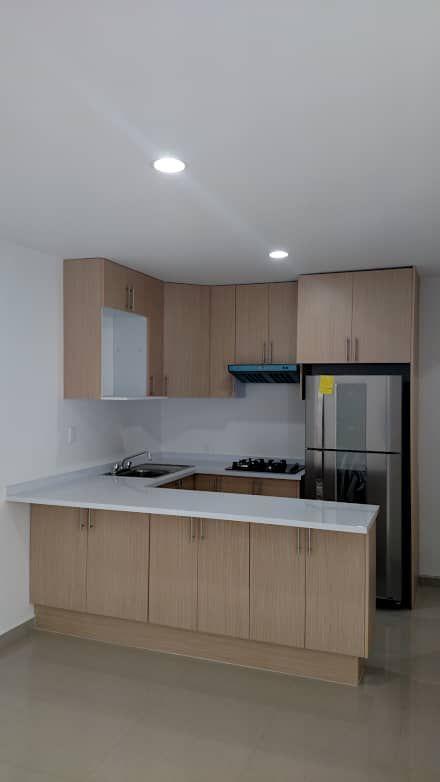 Cocinas peque as grandes ideas para espacios reducidos for Modelos de cocinas pequenas y bonitas