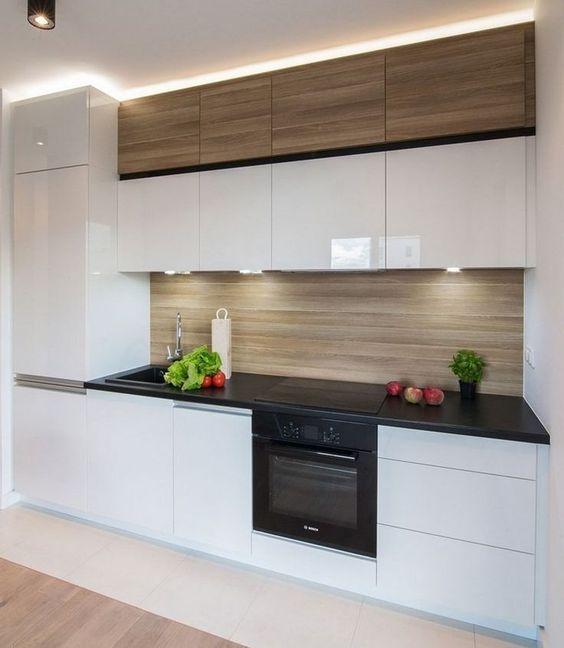Cocinas peque as grandes ideas para espacios reducidos for Cocinas pequenas y bonitas