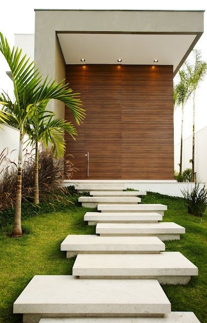 Dise o de caminos para la entrada de tu casa for Diseno de entradas principales de casas
