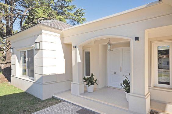 Diseno casas entradas preciosas modernas 11 decoracion Fachadas de entradas de casas modernas