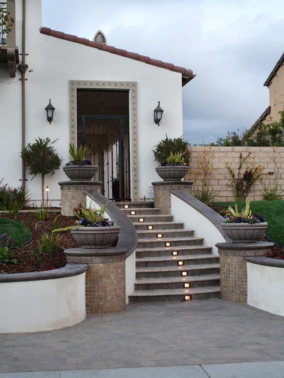 Diseno casas entradas preciosas modernas 13 decoracion de interiores fachadas para casas - Entrada de casas modernas ...