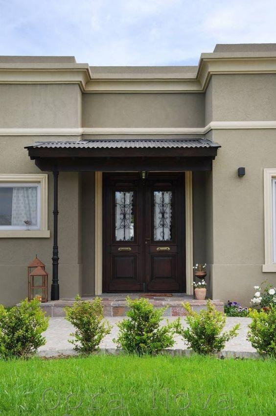 diseno casas entradas preciosas modernas 15 decoracion