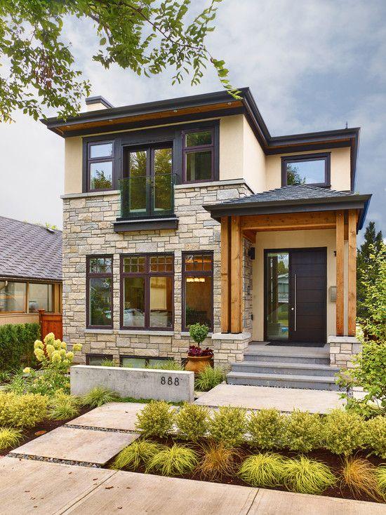 diseno casas entradas preciosas modernas 18 decoracion