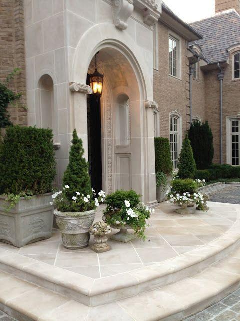 Diseno casas entradas preciosas modernas 20 decoracion - Entradas modernas decoracion ...