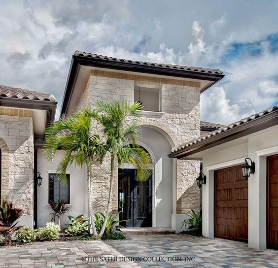 Diseno casas entradas preciosas modernas 25 - Decoracion de fachadas ...