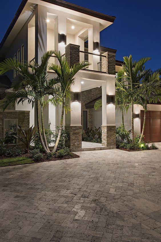Diseno casas entradas preciosas modernas 9 decoracion - Entradas de casas modernas ...