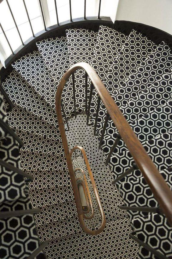 Diseños de pisos para el area de las escaleras